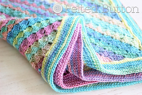 Spring into Summer Blanket by Felted Button