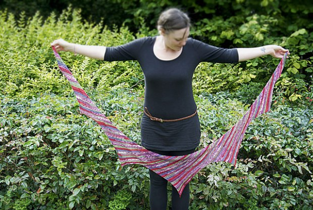 Vera Shawl by Vicki Brown