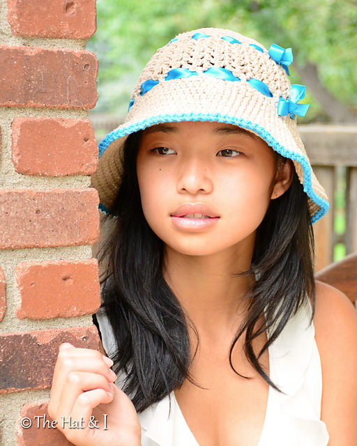 beachcomber sunhat by The Hat & I