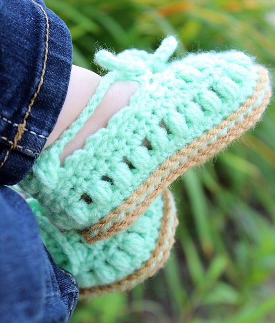 Everyday Baby Shoes by Frayed Knot