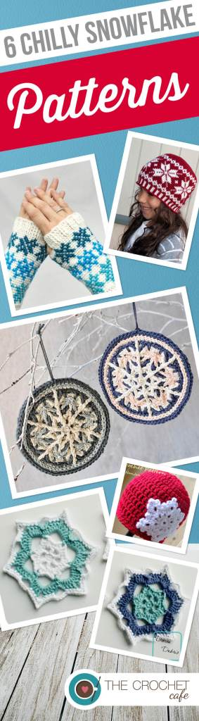 6 Chilly Snowflake Patterns (Pinterest)