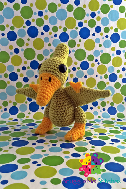 SnuggleMe Pterodactyl by Snuggleme Stitches