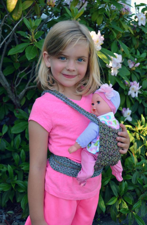 Doll Baby Carrier by Danyel Pink Designs