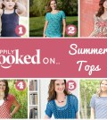 Hooked on Summer Tops