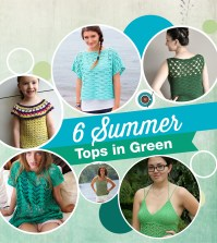 6 Summer Tops in Green