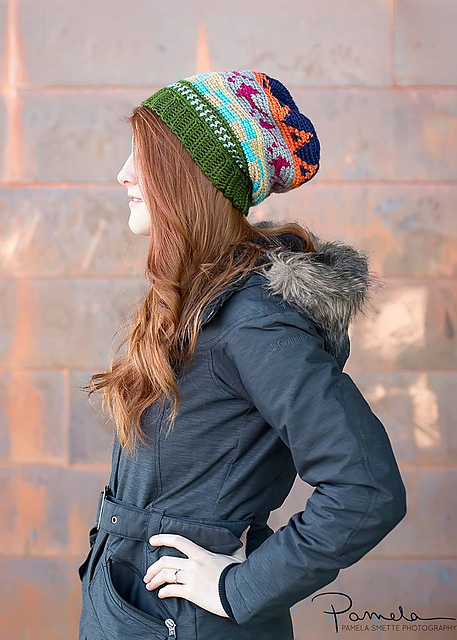 Colorway Slouch by Just Be Happy Crochet