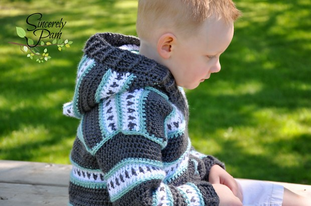 Dylan Cardigan - Child Sizes by Sincerely Pam