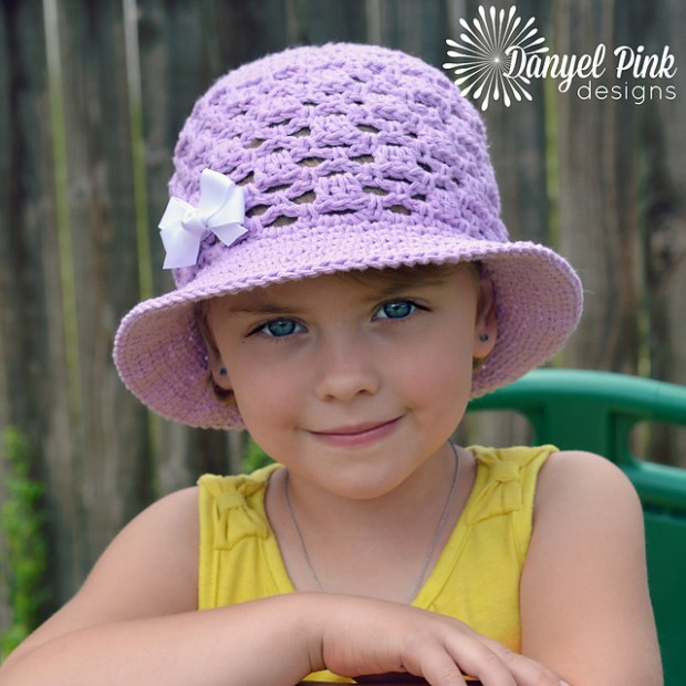 Lady Mary Sun Hat by Danyel Pink