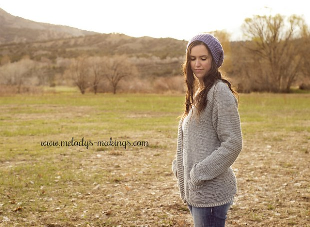 Wisteria Cardigan ~ Crochet Version by Melody's Makings