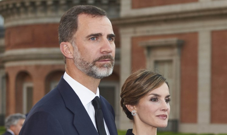 King Felipe and Queen Letizia will be visiting the UK. Picture by Face to Face / i-Images