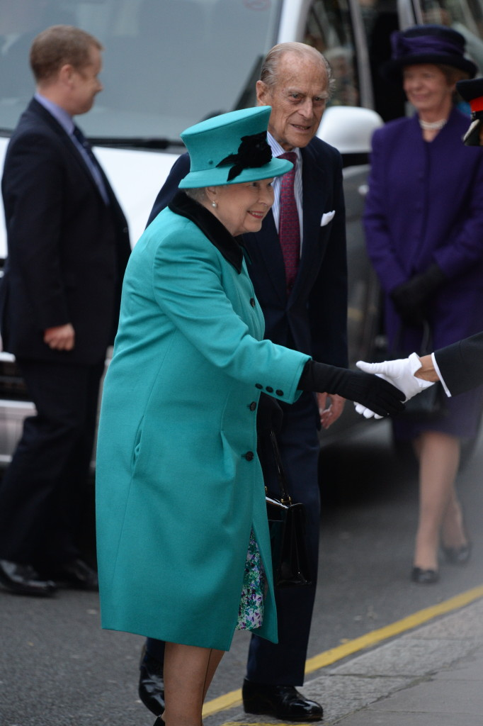 The Queen and Duke of Edinburgh to visit St Columba's Church. Picture by Andrew Parsons / i-Images