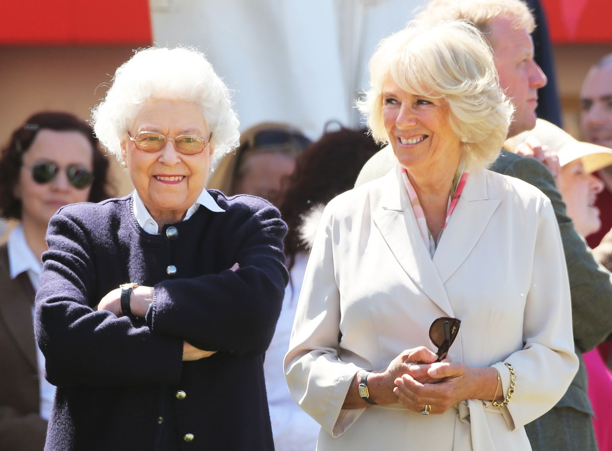 Camilla - an asset to The Queen & Crown