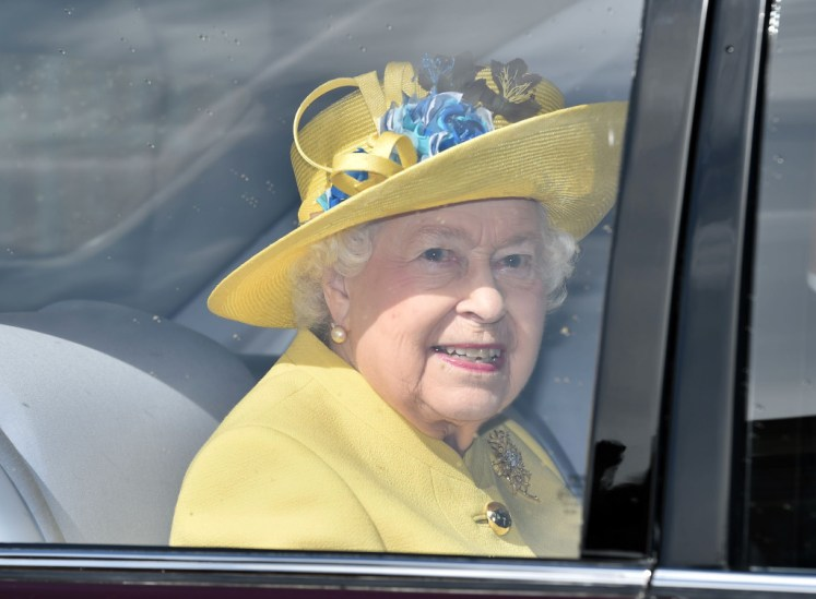 Queen Elizabeth II attend the Easter Sunday Service at St George's Chapel, Windsor, Berkshire, Picture by CPNA Rota / i-Images