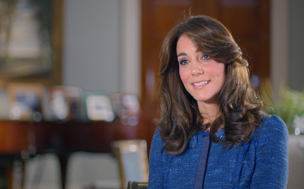 The Duchess of Cambridge reveals what George calls The Queen. ITV
