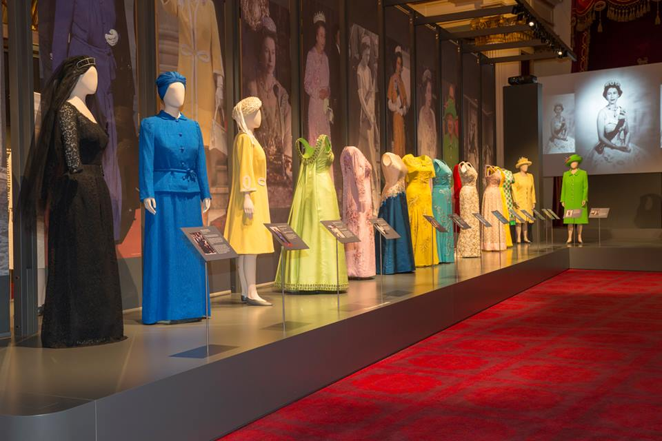 Dresses worn by The Queen over her 90 years are being displayed at Buckingham Palace (Royal Collection Trust/Queen Elizabeth II)