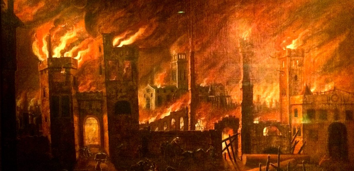 Great Fire of London 1666 live blog as if it was happening ... |Impressionist Fire London