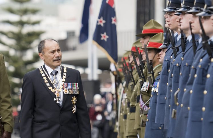 Sir Jerry Mateparae, Governor-General of New Zealand, thinks it is inevitable the country will become a republic Crown Copyright/NZ Defence Force)