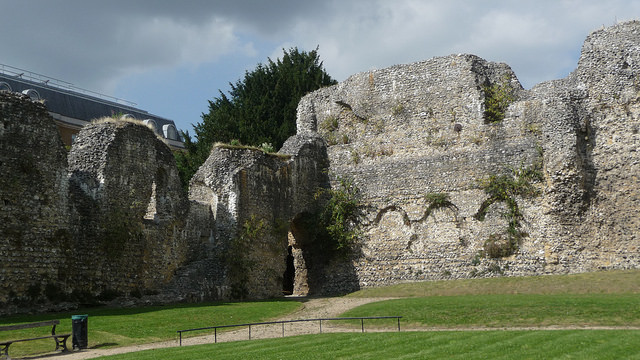Reading Abbey, the final resting place of Henry I. Is his body still there though? (Neil Thompson)