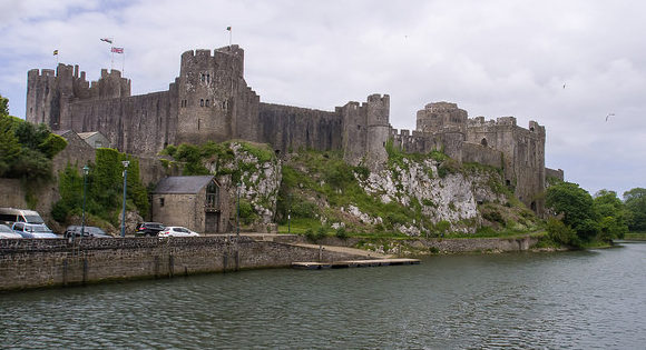 Pembroke Castle, where Margaret gave birth to Henry VII Ed Webster