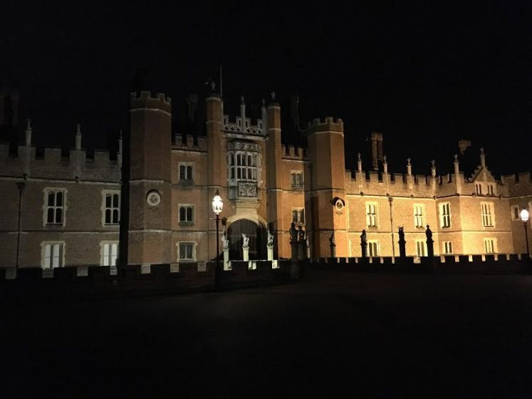 Hampton Court is offering ghost tours for the brave this November (Victoria Howard)