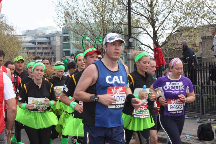 Princess beatrice (left) was the first Royal to run the London Marathon (Hayley Kidd)