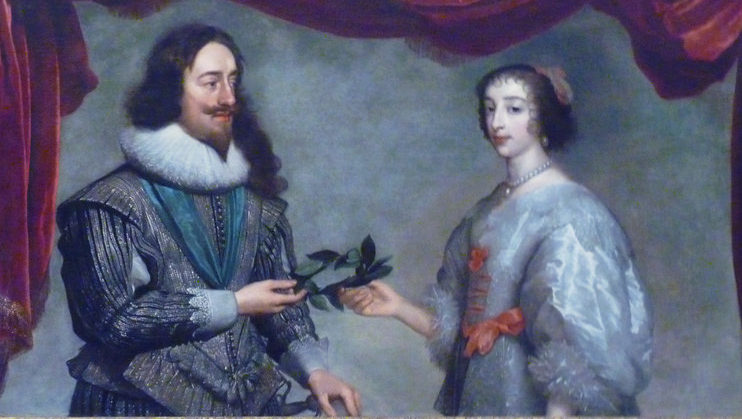 Thanks to Charles and Villiers unsuccessful mission to Spain, Charles married Henrietta Maria of France shortly after he took the throne Damine Entwistle)