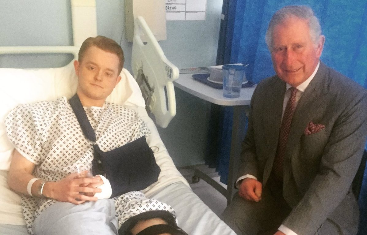 Prince Charles visits Westminster attack victims & emergency staff