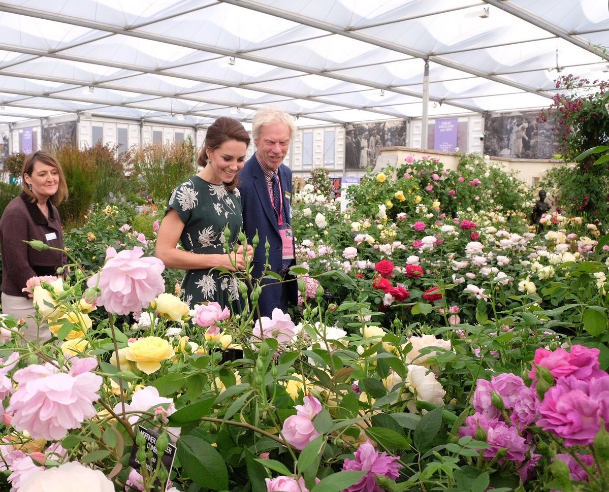 Queen attends Chelsea Flower Show with Kate, Sophie, Edward, Beatrice & more