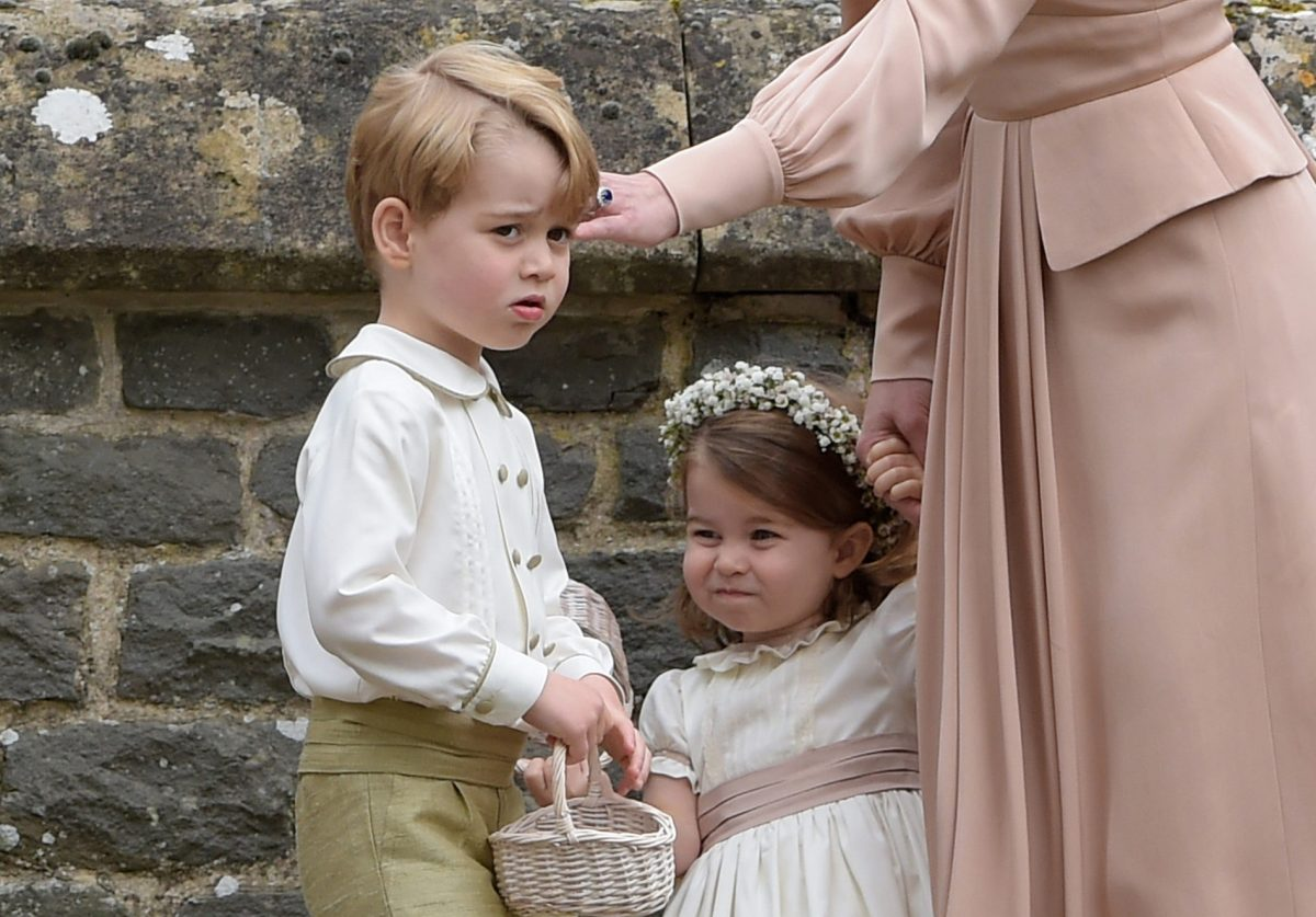 George & Charlotte looked adorable at Pippa's wedding; plus guests Harry, Eugenie & Roger Federer!