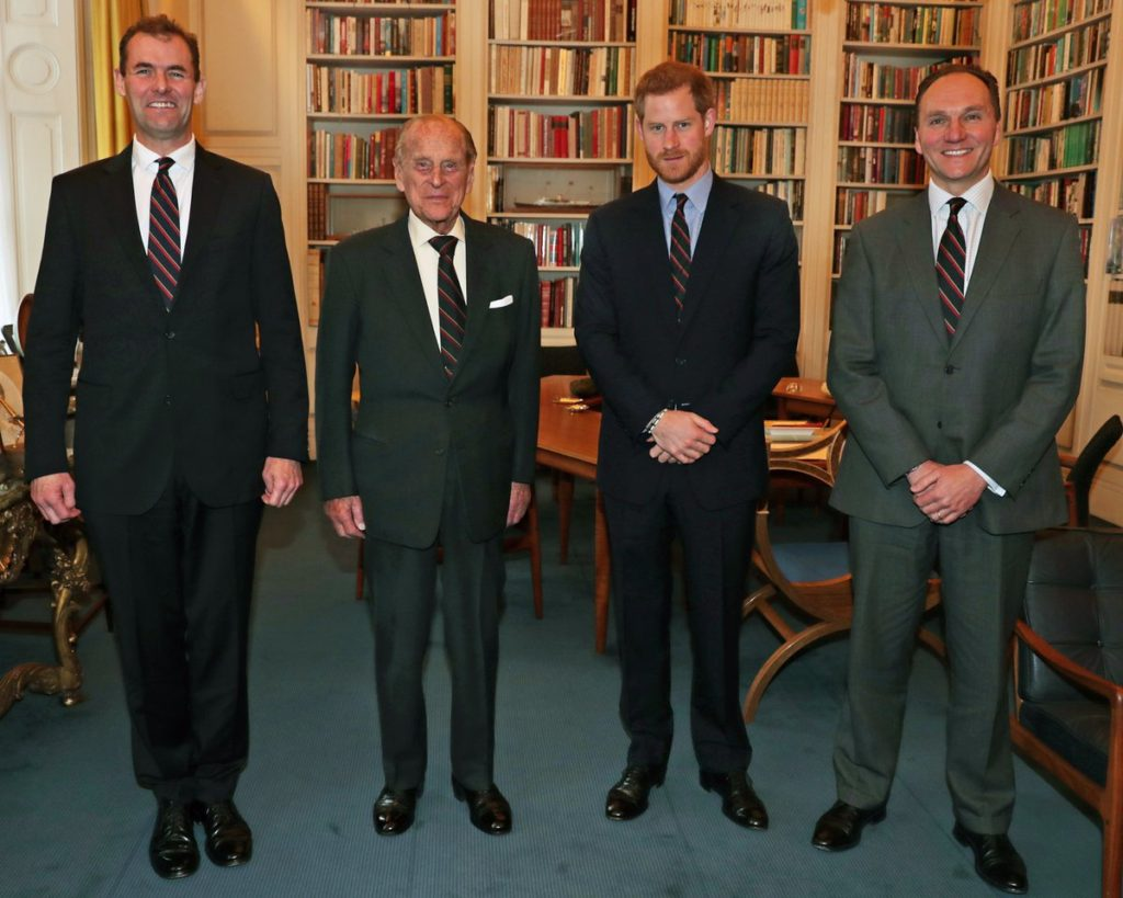 prince harry royal marines captain general