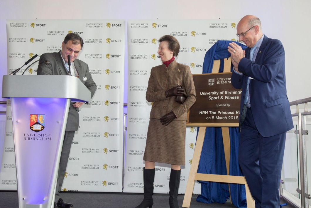 Princess anne in birmingham sport centre opening - David s salon eastwood ...