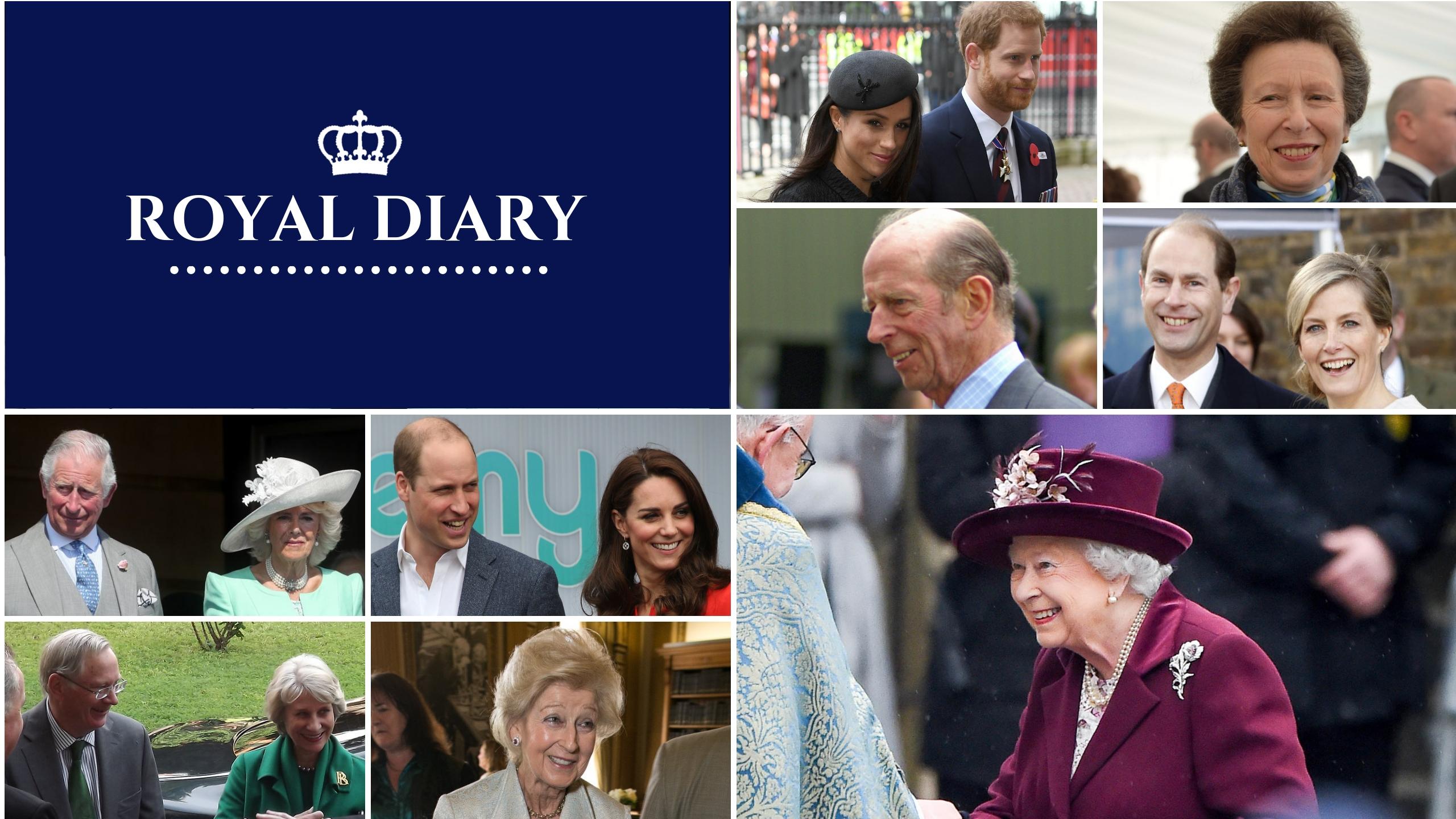 Royal diary: upcoming royal engagements 22-28th July • The Crown Chronicles