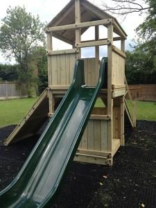 Photo of the playground at the Crown Pub & Restaurant Granborough