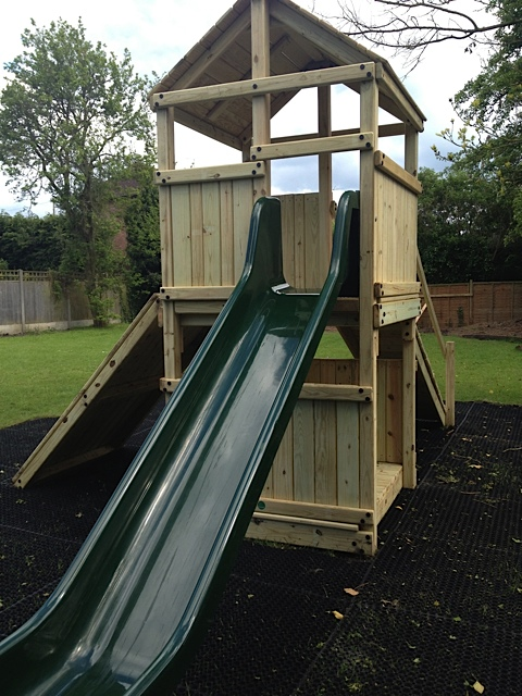 Photo of the playground at the Crown Pub & Restaurant Granborough