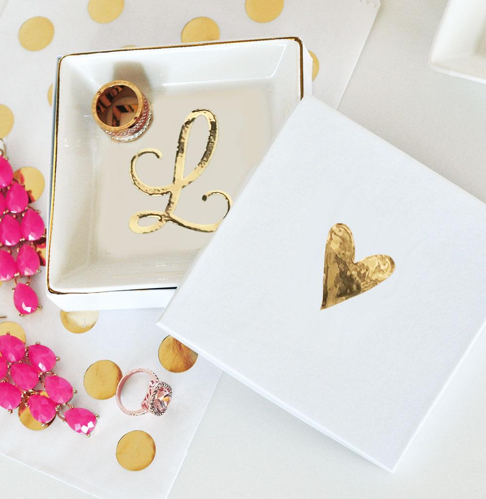 Monogram Jewelry or Ring Dish