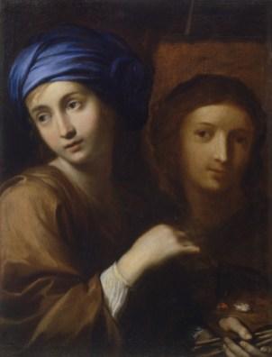 Ginevra Cantofoli Autoritratto, 1656 circa Olio su tela, 66,1x49,9 cm Pinacoteca di Brera, Milano,