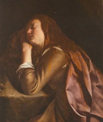 Artemisia Gentileschi Maddalena penitente, 1627 – 1629 Olio su tela, 100x73 cm Museo Correale di Terranova - Sorrento
