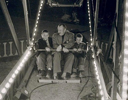 John Steinbeck y sus hijos