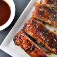 Maple Brown Sugar BBQ Ribs