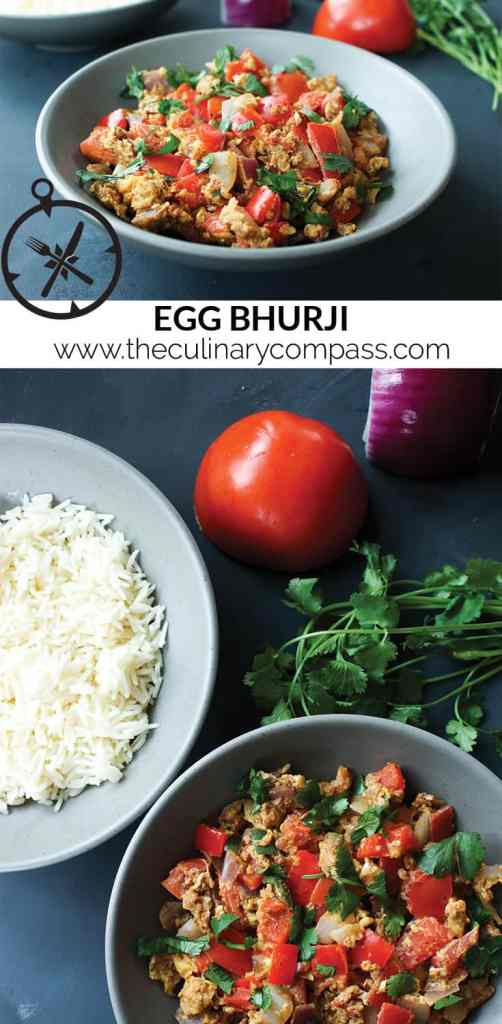 Looking for a new take on scrambled eggs for your weekend brunch? Try this Indian style scrambled eggs called Egg Bhurji!