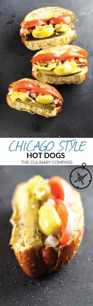 Get transported to the Windy City with these Chicago Style Hot Dogs!