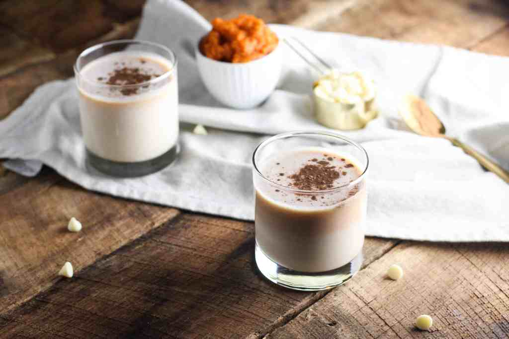 This White Chocolate Pumpkin Martini makes for the perfect dessert drink for your fall holiday gatherings!
