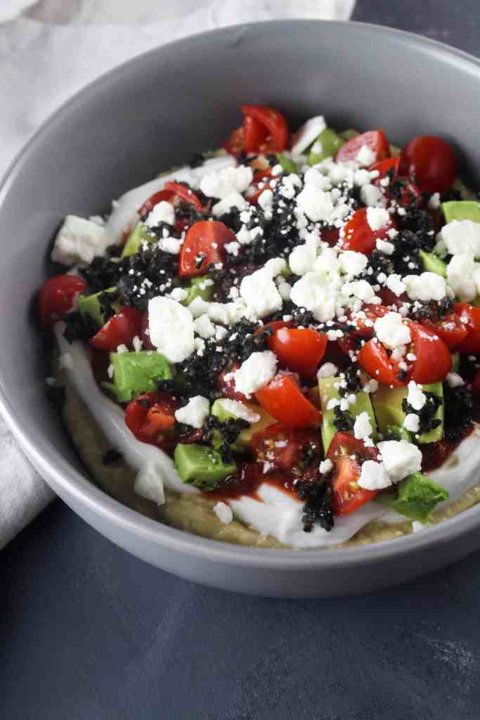 This Mediterranean Seven Layer Dip is an easy and flavorful new take on the classic!