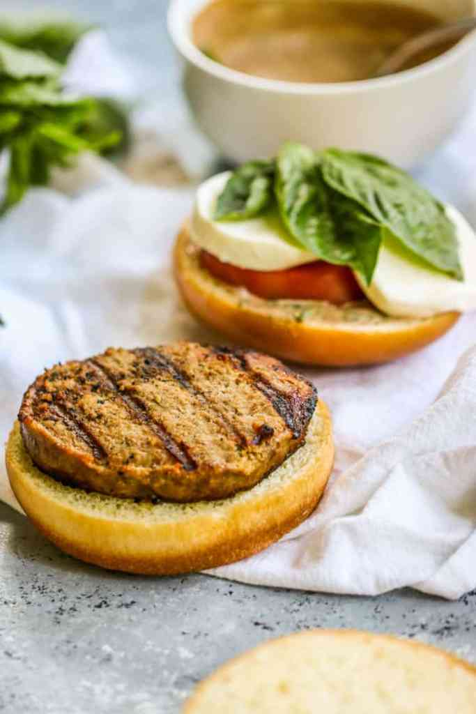 These Caprese Turkey Burgers are the perfect light and flavorful burger for the summer!