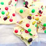 White Chocolate Christmas Bark