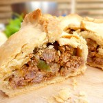 Spicy Beef and Onion Homemade Pasties