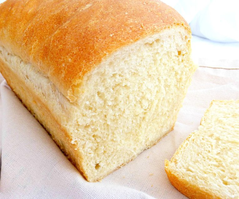 Simple White Loaf Bread (and Some Exciting News