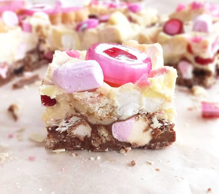 Pretty in Pink Rocky Road