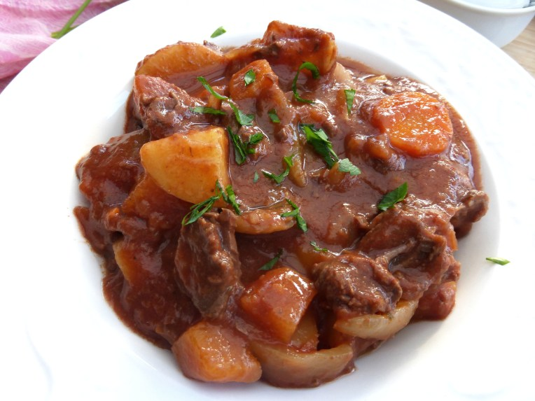 Beef and Tomato Crockpot Stew