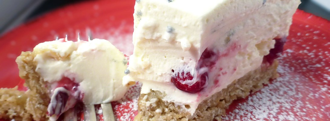 White Truffle Cranberry Cheesecake with a Gluten Free Ginger Oat Crust